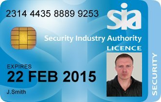 Security officer licence